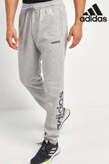 adidas Camo Logo Linear Joggers