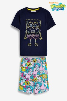 SpongeBob SquarePants Short Pyjamas (3-14yrs)