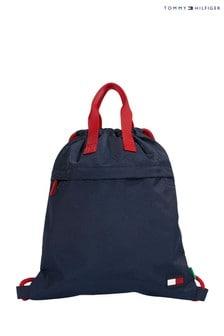 Tommy Hilfiger Red Core Drawstring Bag