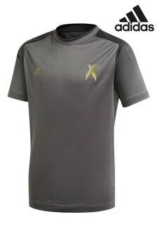 adidas X T-Shirt, Anthrazit