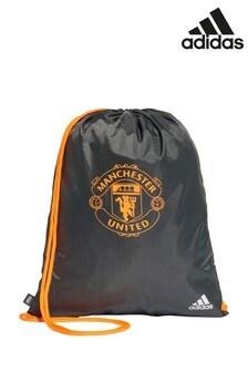 adidas Manchester United Khaki Gymsack