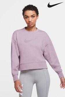 Nike Dri-FIT Get Fit Trainingsoberteil mit Swoosh-Logo