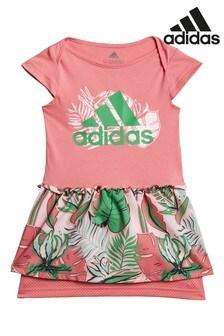 adidas Kleid mit Blumen-Print für Kleinkinder