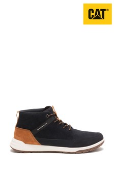 CAT® Quest Black And Tan Mid Top Trainers
