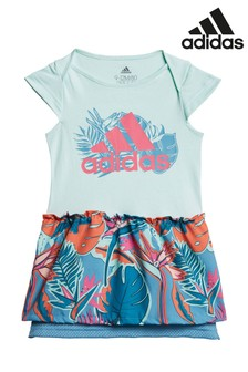 adidas Infant jurk met bloemenprint