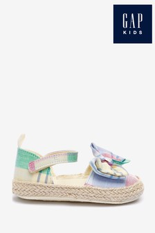 Gap Baby Rainbow Check Bow Sandals