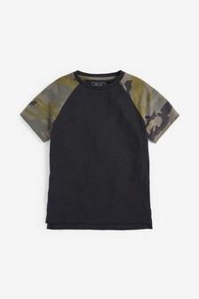 Camouflage Raglan T-Shirt (3-16yrs)