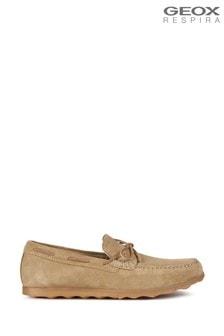Мужские туфли песочного цвета Geox Calarossa
