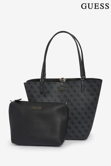 Guess Alby 2-in-1 Logo Tote Bag