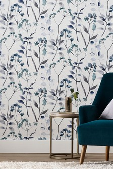 Paste The Wall Esme Floral Wallpaper
