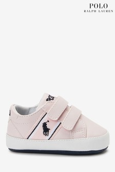 Ralph Lauren Pink Oaklynn Shoes