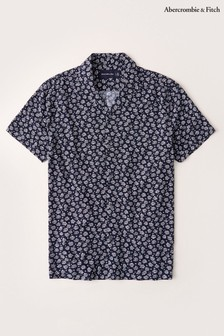 Abercrombie & Fitch Navy Floral Shirt