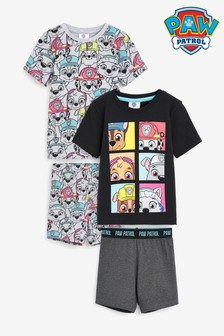 2 Pack Paw Patrol Short Pyjamas (12mths-8yrs)