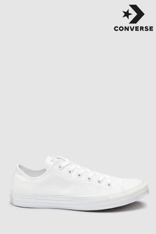 Converse White/White Chuck Ox Trainers