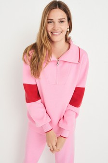 Soft Knitted Half Zip Top (139192)   $50