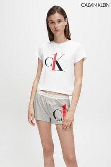 Calvin Klein White Pyjama Set