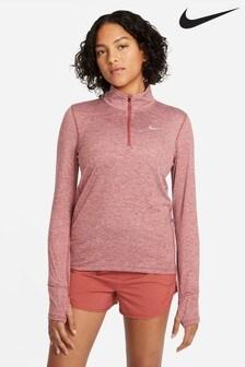 Nike Element Running Sweat-Top mit 1/2-Reißverschluss