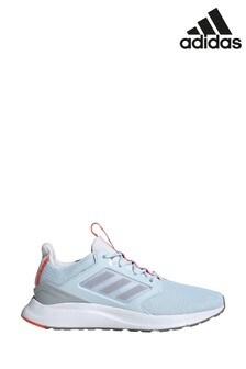 Синие/белые кроссовки adidas