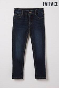 FatFace Blue Dark Wash Slim Jeans