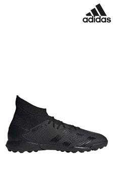 נעלי כדורגל של דגם Black Shadow Beast Predator Turf בשחור