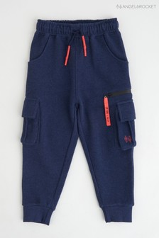 Angel & Rocket Blue Cargo Joggers