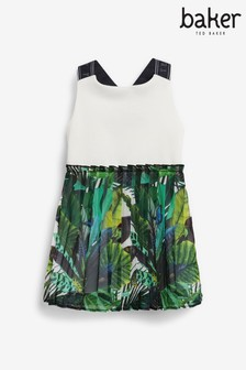 Baker by Ted Baker Kleid mit plissiertem Rock
