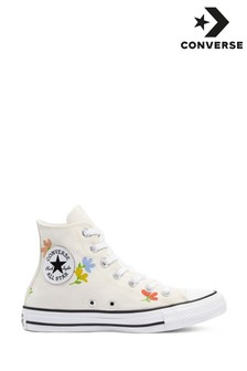 Converse Floral Printed High Trainers