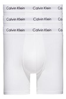 Bavlnené strečové boxerky Calvin Klein, 3 ks