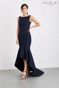 Синее платье макси Damsel In A Dress Leela