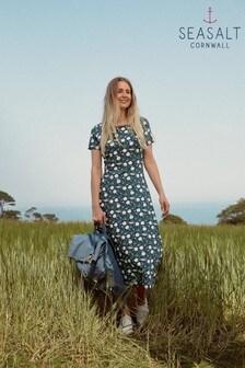 Seasalt Abbey View Kleid, blau