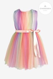 Charabia Pink Rainbow Dress