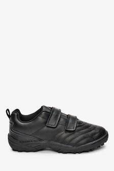 Кожаные стеганые туфли с двумя ремешками (Подростки)