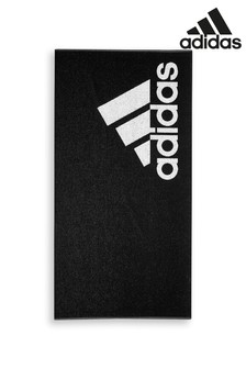 adidas Small Black Towel