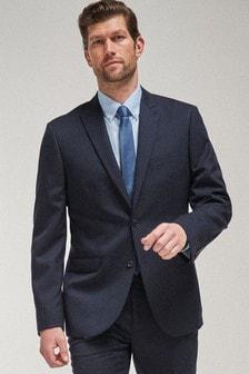 100% Wool Suit: Jacket