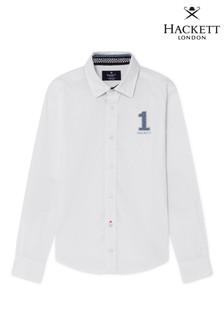 Camisa blanca estilo informal de Hackett