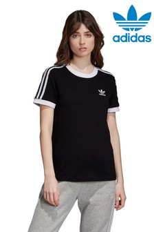 Футболка с тремя полосками adidas Originals