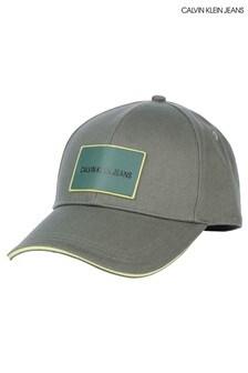 Calvin Klein Jeans Green Patch Cap