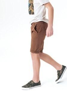 Удлиненные шорты чинос (3-16 лет)