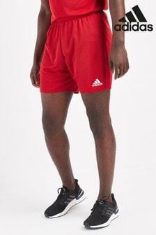 Красные шорты adidas Parma