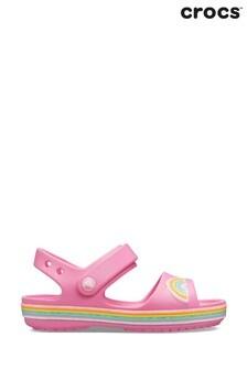 Crocs™ Crocband Pink Rainbow Sandals