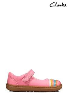 Clarks Flash Rain Schuhe, Pink