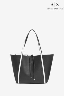 Armani Exchange Reversible Bag And Wallet