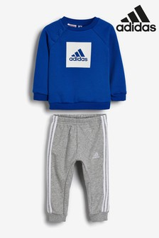 adidas Infant Box Crew And Jogger Set
