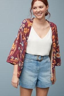 Cardigan à manches kimono