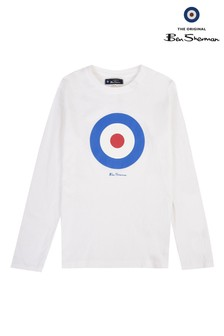 Ben Sherman Target Long Sleeve T-Shirt
