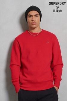 Superdry運動風圓領運動衫