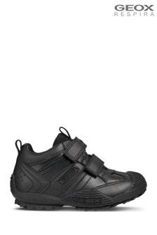Geox J zwarte Savage schoenen