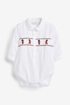 Рубашка-боди с вышивкой (0 мес. - 2 лет)