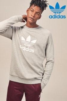 adidas Originals三葉草圓領運動衫