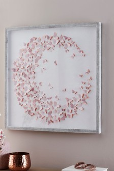 3D Lazercut Butterfly Framed Art